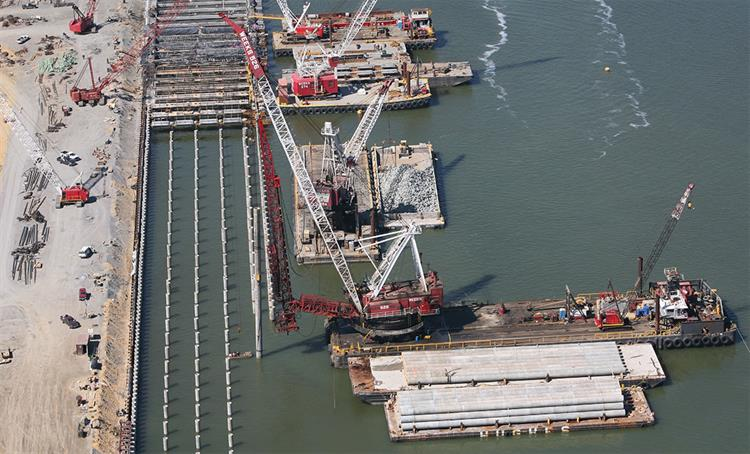 Construction Container Terminal Wharf Facility