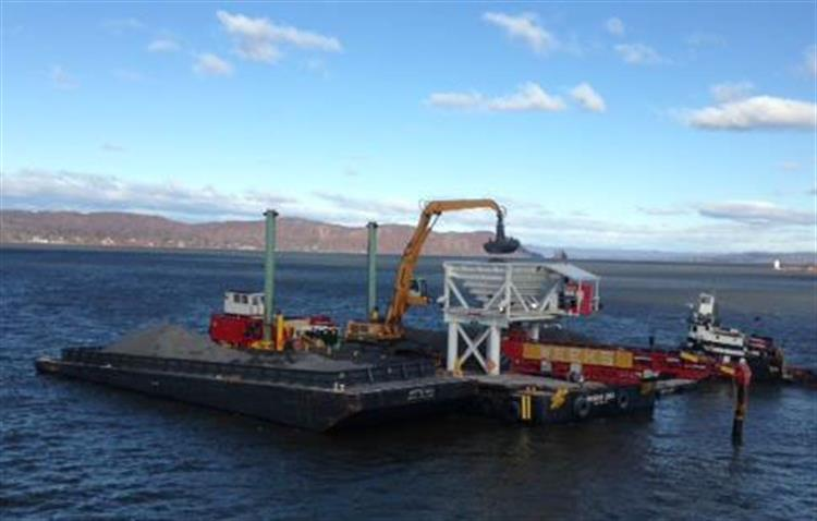 Environmental Dredging, Processing & Post Dredge Capping Placement