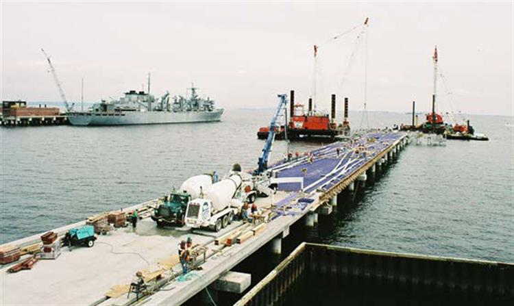 Naval Weapons Station Earle Pier Replacement