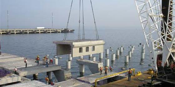 Construction Naval Weapons Station Earle Pier Replacement