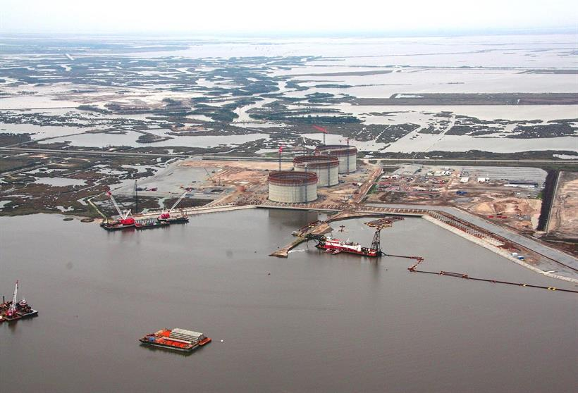 Hackberry LNG, 1 Feb 2007
