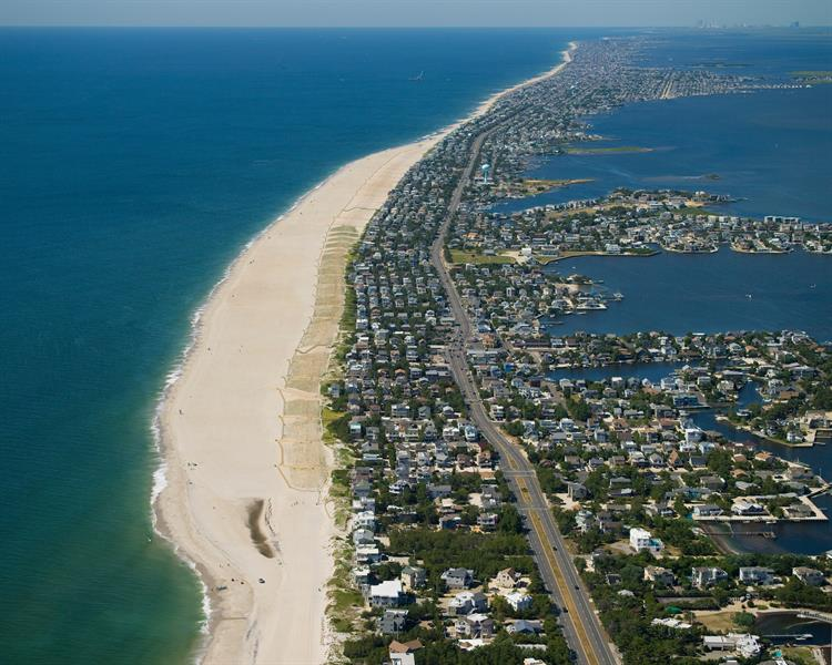 Long Beach Lbi After Looking South